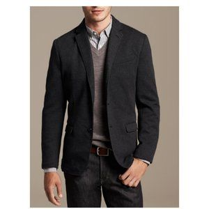 Banana Republic Men's Dark Grey Blazer Size 38R